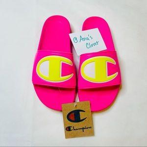 Champion   Women's Pink Sandals